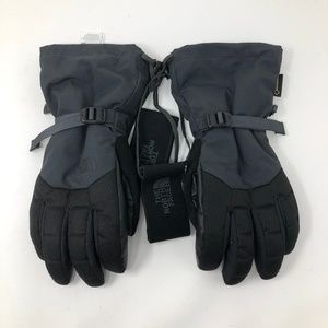 The North Face Mens Black Gore-Tex Gloves S NWOT